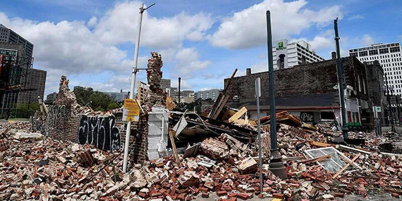 İda Kasırgası, cazcı Louis Armstrong'un evini yıktı