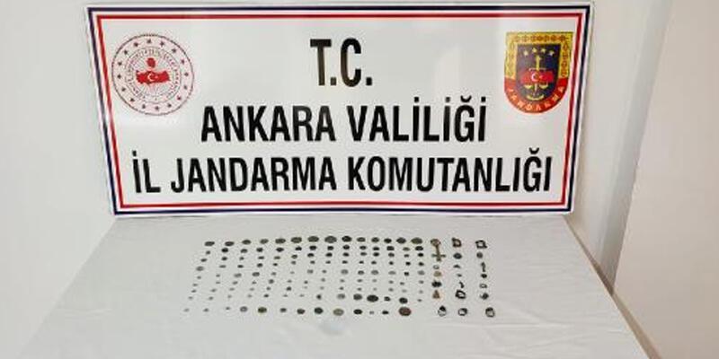 Ankara'da tarihi eser operasyonu: 1 gözaltı