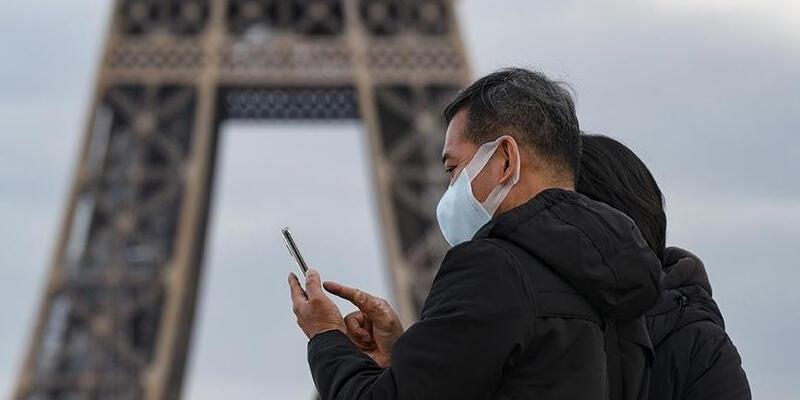 Fransa'da son 24 saatte 15 bin 911 Kovid-19 vakası kaydedildi
