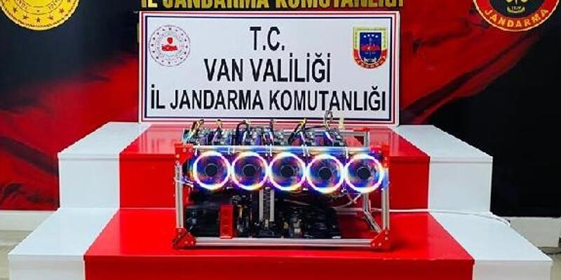 Van'da gümrük kaçağı kripto cihazı ele geçirildi