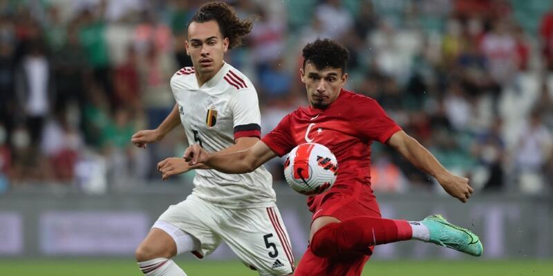 Türkiye 3 golle Belçika'ya kaybetti