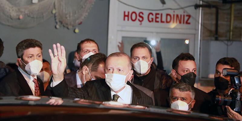Cumhurbaşkanı Erdoğan, Güneysu'da