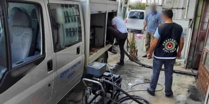 Konya'da31 bin litre kaçak akaryakıt ele geçirildi