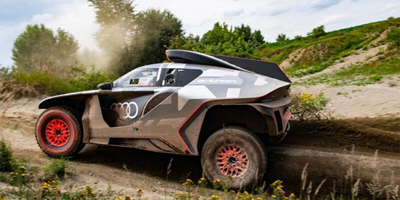 Dakar Rallisi'ne elektrikli araç hazırlıyor