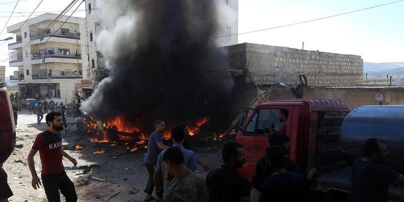 Afrin'de hain saldırı: 3 ölü, 6 yaralı