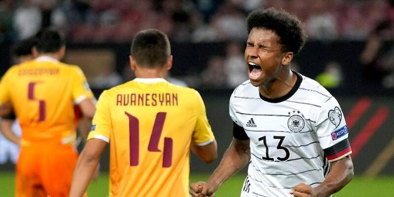 Almanya'dan Ermenistan'a 6 gol
