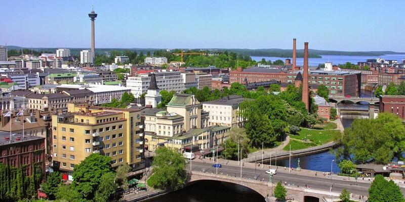 Tampere nerede, hangi ülkede? Tampere haritadaki yeri!