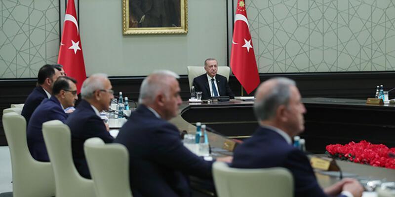 SON DAKİKA: Cumhurbaşkanlığı Kabinesi toplandı