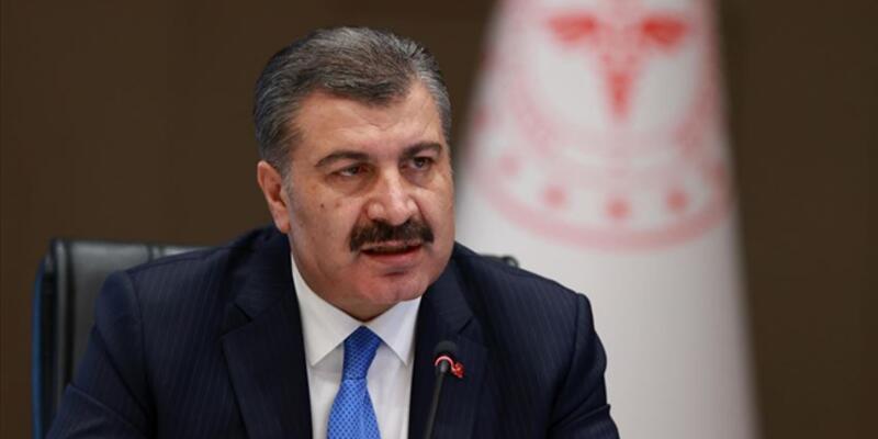 """Sağlık Bakanı Koca, Konya'nın aşılamada """"mavi"""" kategorideki iller arasına girdiğini duyurdu"""