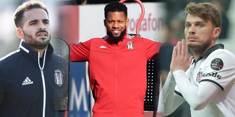Son dakika... Beşiktaş'ta 3 futbolcu sözleşmesini feshetmedi!