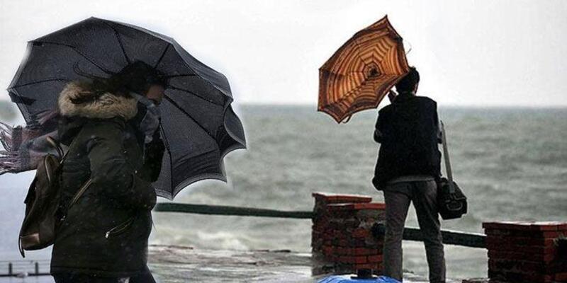 O bölgelere kuvvetli fırtına uyarısı! 8 Eylül Çarşamba hava durumu