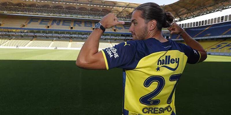 Son dakika... Fenerbahçe'de Crespo'nun lisansı çıktı