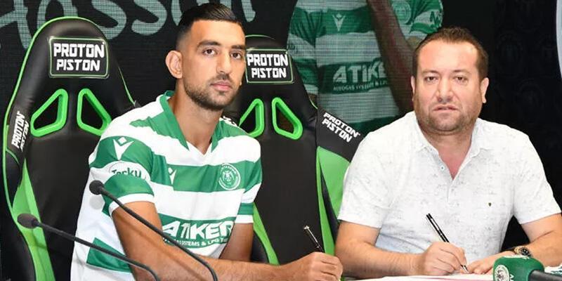 Son dakika... Konyaspor Ahmed Hassan'ı transfer etti