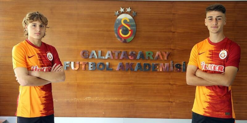 Galatasaray'dan iki imza