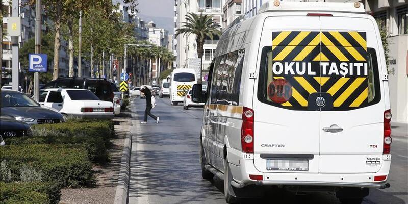 SON DAKİKA:486 okul servisi aracı trafikten men edildi