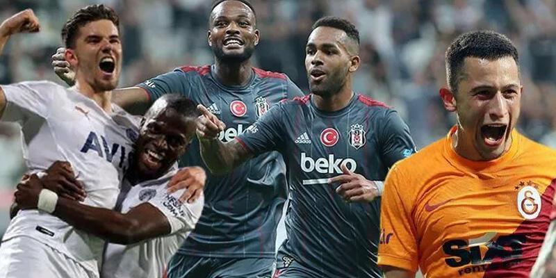 Beşiktaş, Fenerbahçe ve Galatasaray 22 günde 7 maça çıkacak