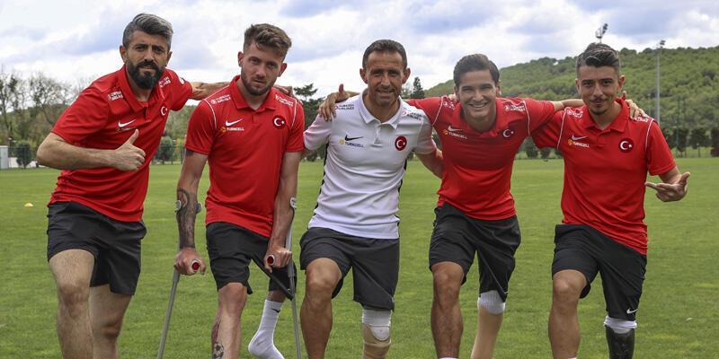 Ampute Milli Futbol Takımı, Avrupa Şampiyonası'na iddialı gidiyor