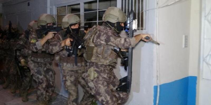Bursa'da uyuşturucu operasyonuna 62 tutuklama