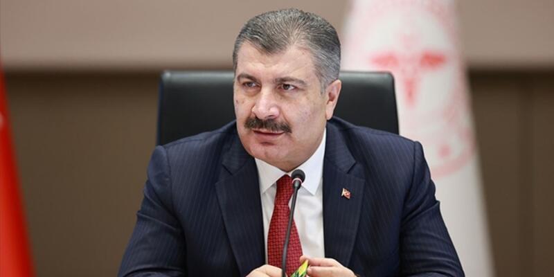 Sağlık Bakanı Koca, 2 ilin 'mavi' olduğunu açıkladı