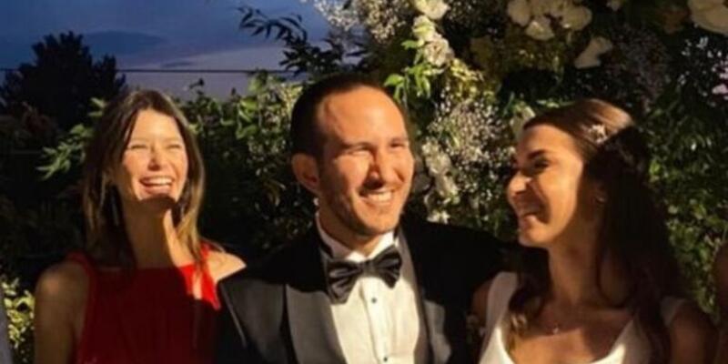 Efe Güray'ın kardeşi Yaman Güray evlendi.. Düğüne Beren Saat ile Kenan Doğulu katıldı!