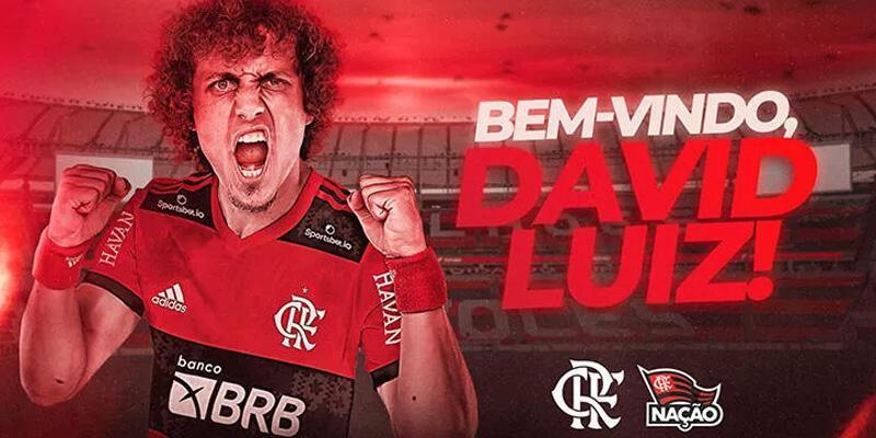 Son dakika... David Luiz resmen Flamengo'da