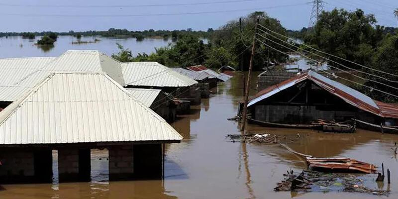 Nijerya'da sel felaketinde 13 kişi öldü