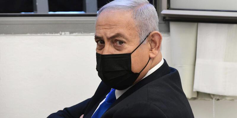 Eski İsrail Başbakanı Netanyahu'nun yargılandığı dava 3 ay aradan sonra yeniden başladı