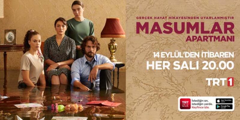 """""""Masumlar Apartmanı""""  yeni sezon ilk bölümüyle bu akşam TRT 1'de"""