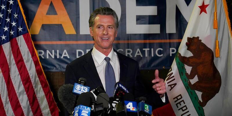 ABD'de California Valisi Gavin Newsom, referandum sonucunda görevinde kaldı