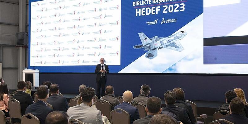Milli savaş uçağı için dijital ikiz çalışmalarına başlandı