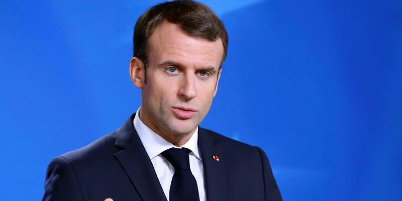 Macron'dan Taliban mesajı