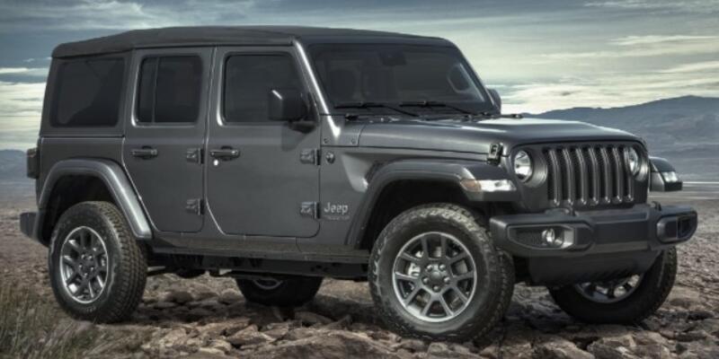 Jeep Wrangler 1.9 milyon TL'den geldi