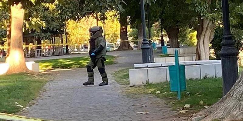 İçişleri Bakanlığı duyurdu! Parka koyulan EYP imha edildi