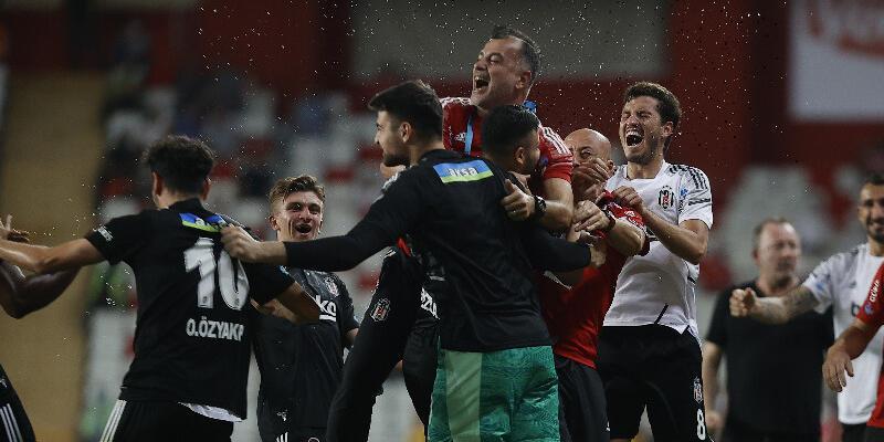 Fraport TAV Antalyaspor - Beşiktaş: 2-3
