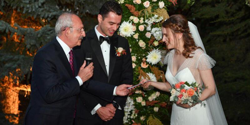 Kılıçdaroğlu, Ankara'da düğün törenine katıldı