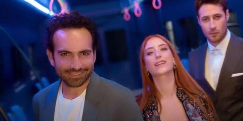 Hazal Kaya ve Buğra Gülsoy yeni dizi İmkansız için ilk kez buluştu