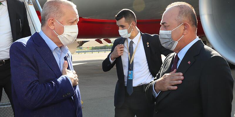 Cumhurbaşkanı Erdoğan ABD'ye geldi