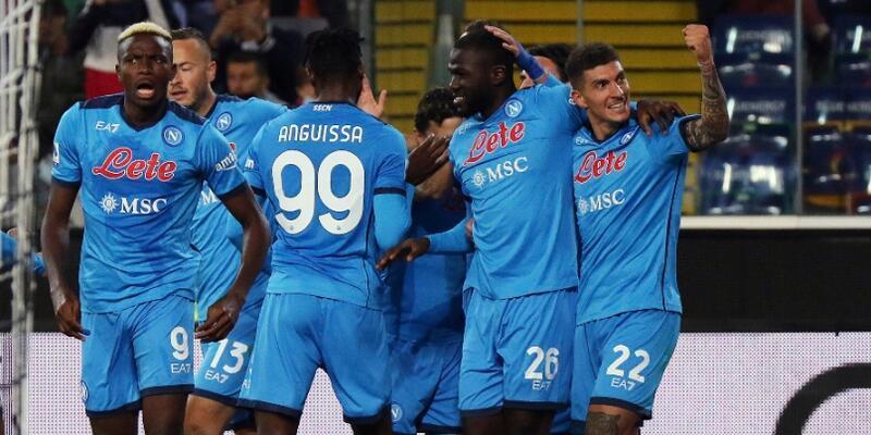 İtalya Serie A'da lider Napoli oldu