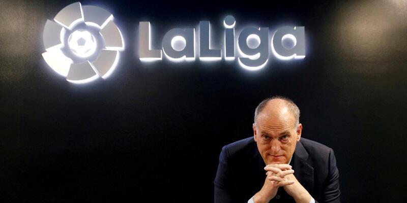 La Liga Başkanı Javier Tebas'tan futbol sistemine eleştiri