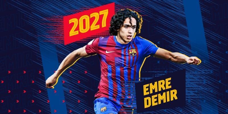 Emre Demir resmen Barcelona'da