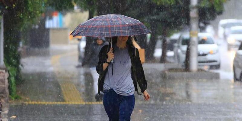 24 Eylül 2021 Hava Durumu: Meteoroloji'den kuvvetli yağış ve rüzgar uyarısı