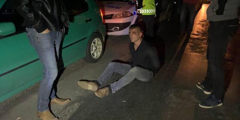 'Dur' ihtarına uymadı! 50 kilometre sonra yakalandı