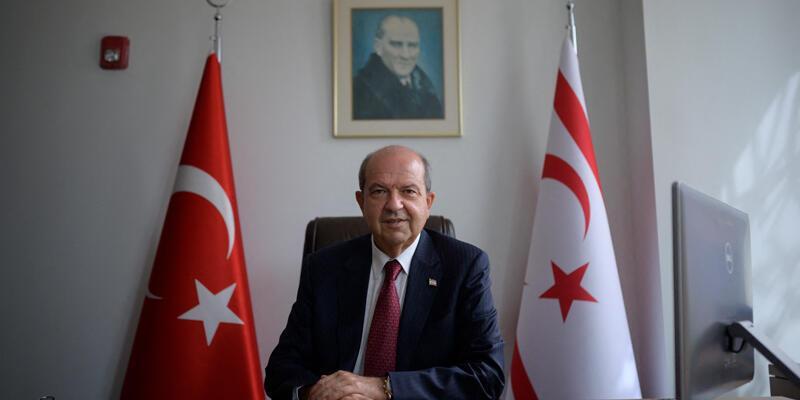"""KKTC Cumhurbaşkanı Tatar: """"Ada'daki tek gerçek, Kıbrıs Türk tarafının egemen eşitliğinin kabul edilmesidir"""""""
