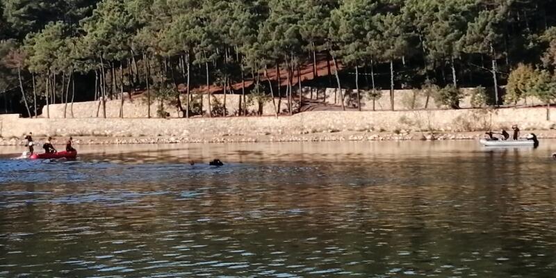 Sancaktepe'de gölette kaybolan kişinin cansız bedenine ulaşıldı