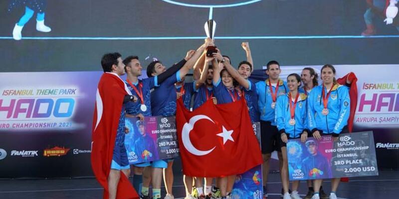 Türkiye, HADO Avrupa Şampiyonu oldu