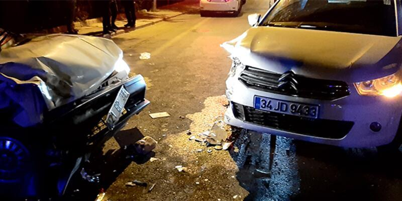 Diyarbakır'da hatalı sollama kazası!