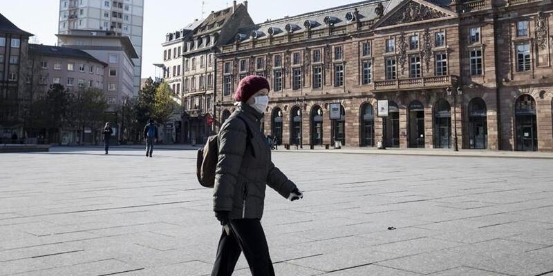 Fransa'da Kovid-19'dan son 24 saatte 74 kişi hayatını kaybetti