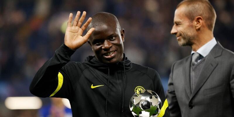 N'Golo Kante Juventus maçında yok