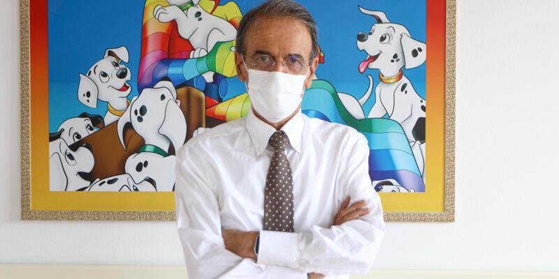 'Çocuklarda koronavirüs tedavisindehiç ilaç kullanmadık'