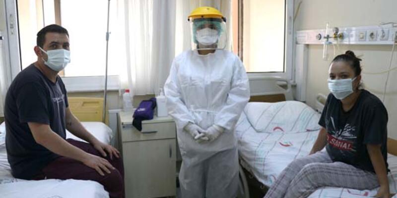 Covid-19 tedavisi gören aşı karşıtı çift, yaşadıkları pişmanlığı anlattı